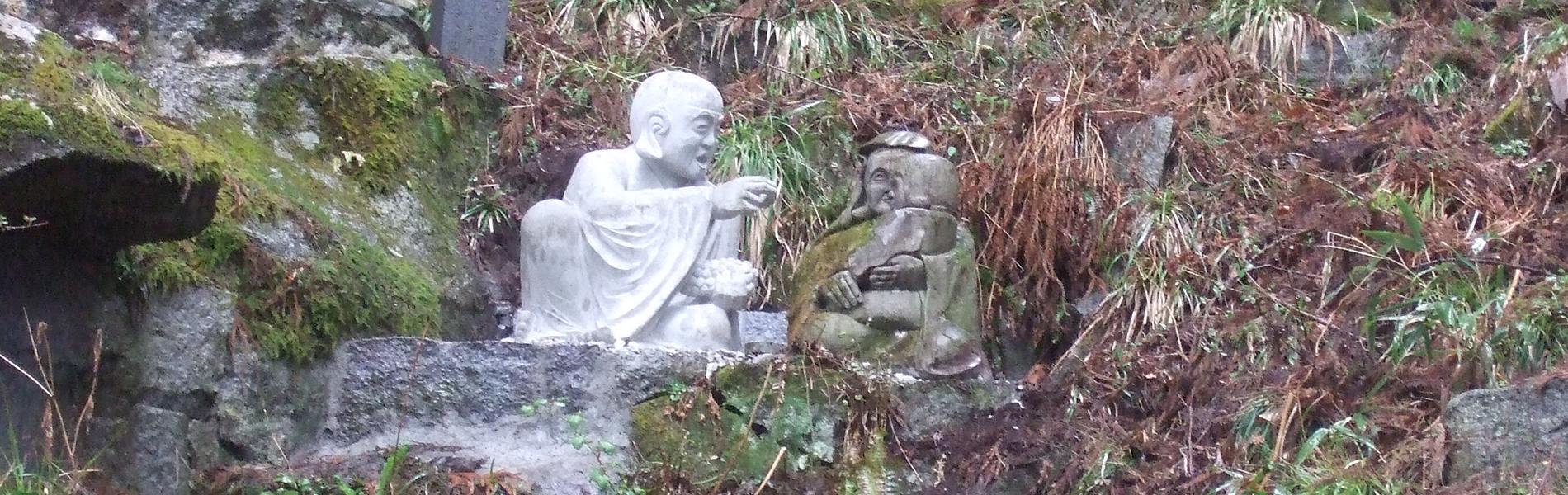 羅漢の店 水野石材店 羅漢彫刻