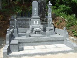 羅漢の店 水野石材店 お墓のリフォーム後4