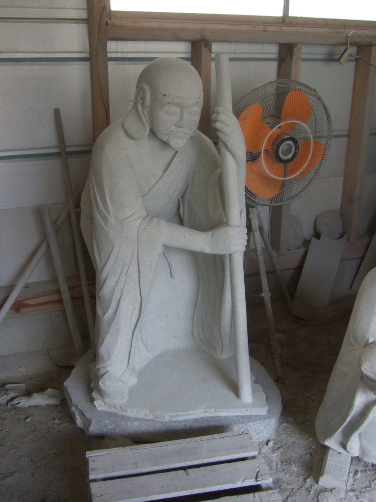 羅漢の店 水野石材店 羅漢彫刻4