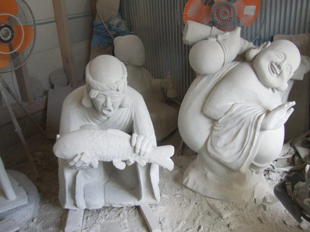 羅漢の店 水野石材店 羅漢彫刻6