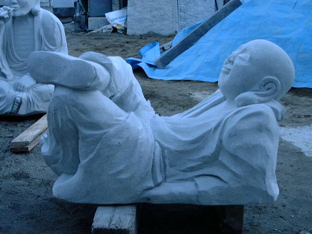 羅漢の店 水野石材店 羅漢彫刻7