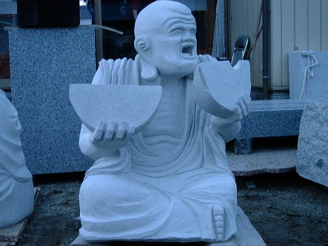 羅漢の店 水野石材店 羅漢彫刻8