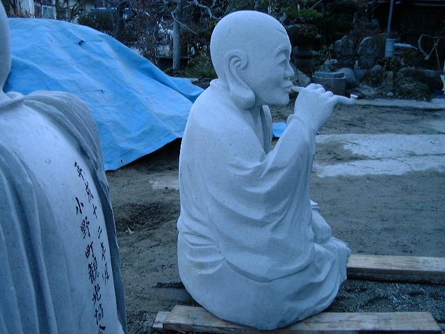 羅漢の店 水野石材店 羅漢彫刻10