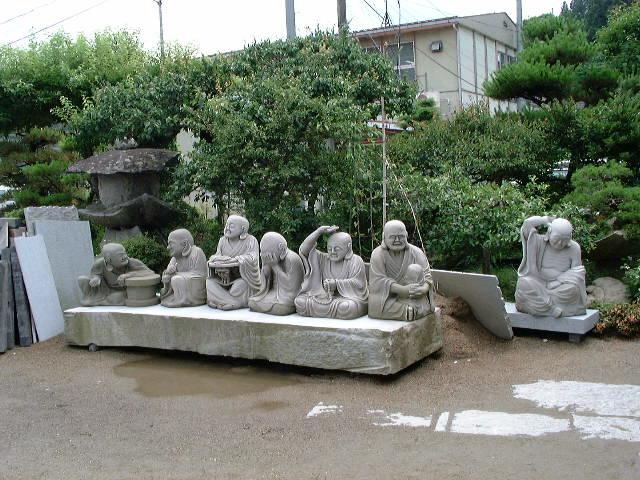 羅漢の店 水野石材店 羅漢彫刻12-2