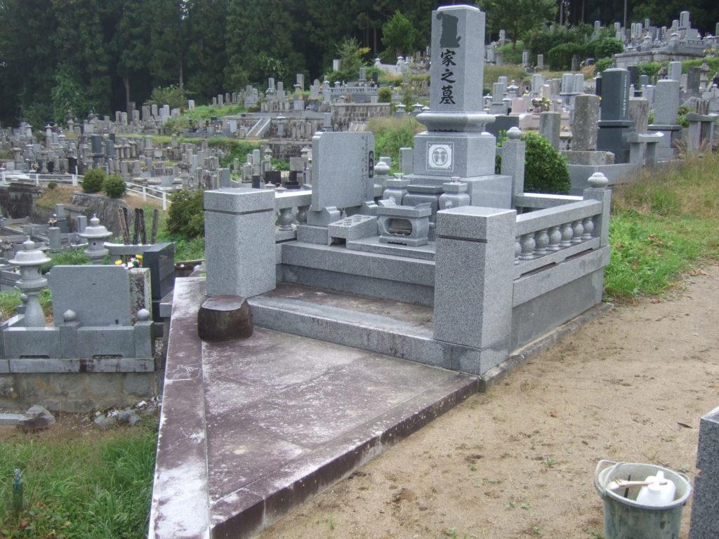 墓石クリーニング01